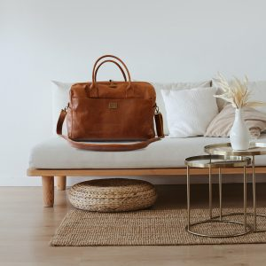 Twin Travel Leather Bag