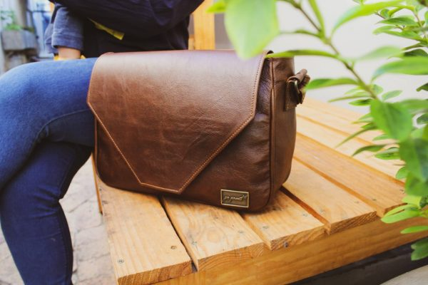 Kwikstertjie Classic Leather Handbag