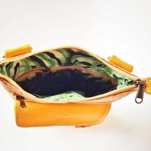 Strandlopertjie | Leather and Cork | Crossbody Bag