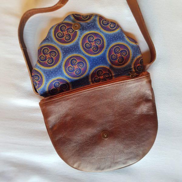 Scalloped Clutch Crossbody Bag