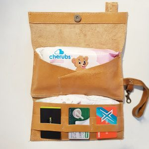 Grab and Go Leather Clutch