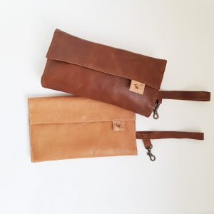 Leather Clutch | Wipstertjie