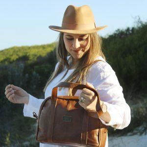 Leather Handbag Vinkie